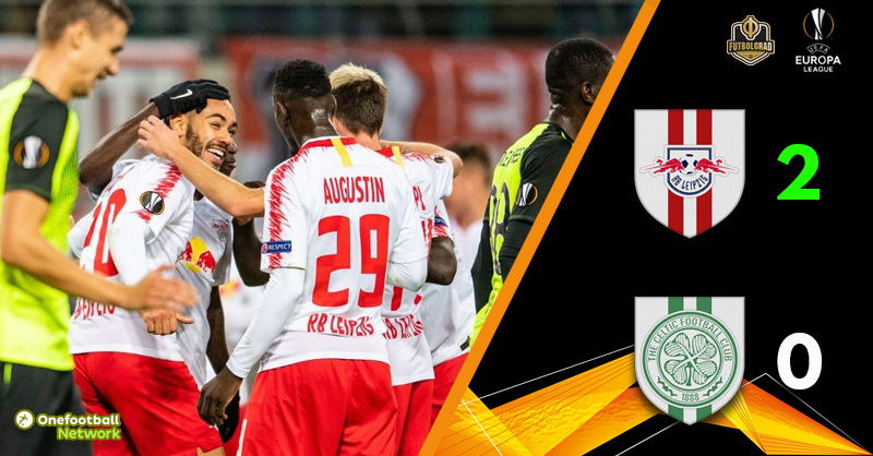 Leipzig dominate Celtic in 2-0 win at the RB Arena