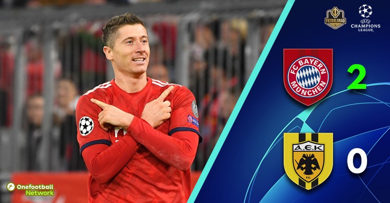 Bayern find some inspiration to beat AEK and advance