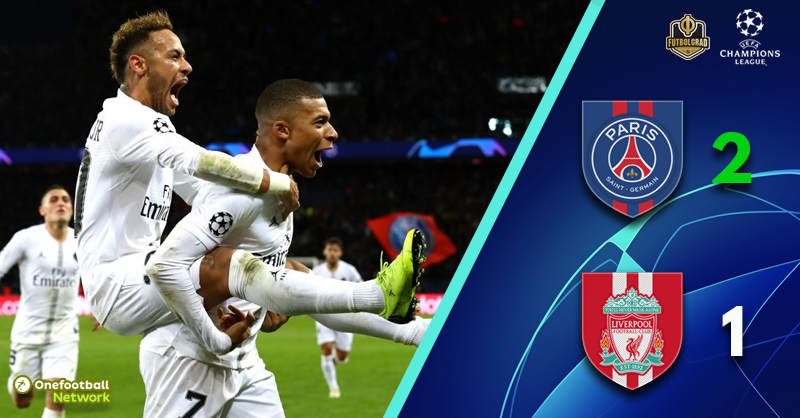Paris victorious as Liverpool left to rue a pedestrian first half