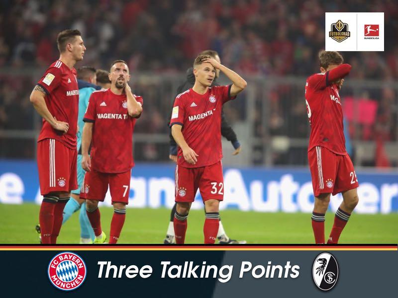 Bayern lack speed, creativity and depth – Three Talking Points from Bayern vs Freiburg