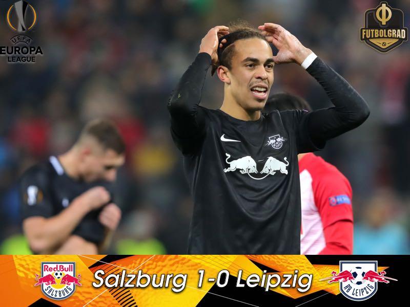 Salzburg defeat Leipzig in electric Red Bull derby
