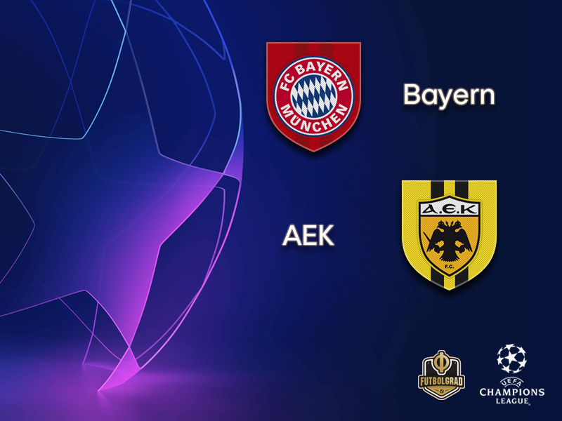 Champions League – Bayern promise to be inspirational against Greek side AEK Athens