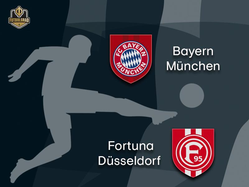 Bayern want to get back on track against hopeful Fortuna Düsseldorf