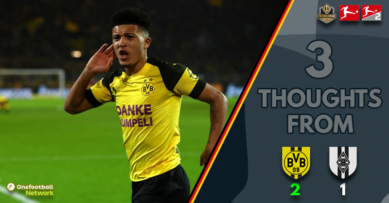 Dortmund rebound with makeshift defence to put pressure back on Bayern – Thoughts from BVB v Gladbach