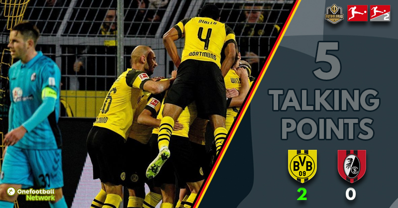 'The Axel Witsel Show' and a disciplined Freiburg – Five Talking Points from Dortmund vs Freiburg