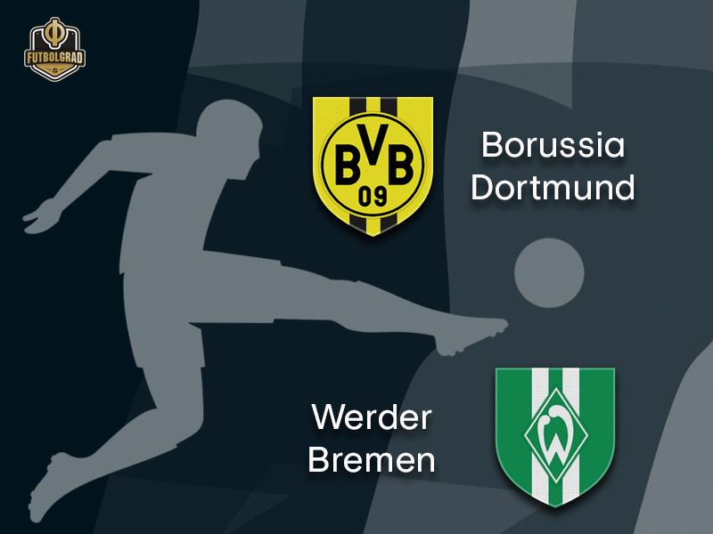 Dortmund eye Herbstmeisterschaft label as they host a resurgent Werder Bremen