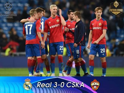 Real Madrid v CSKA – Match Report