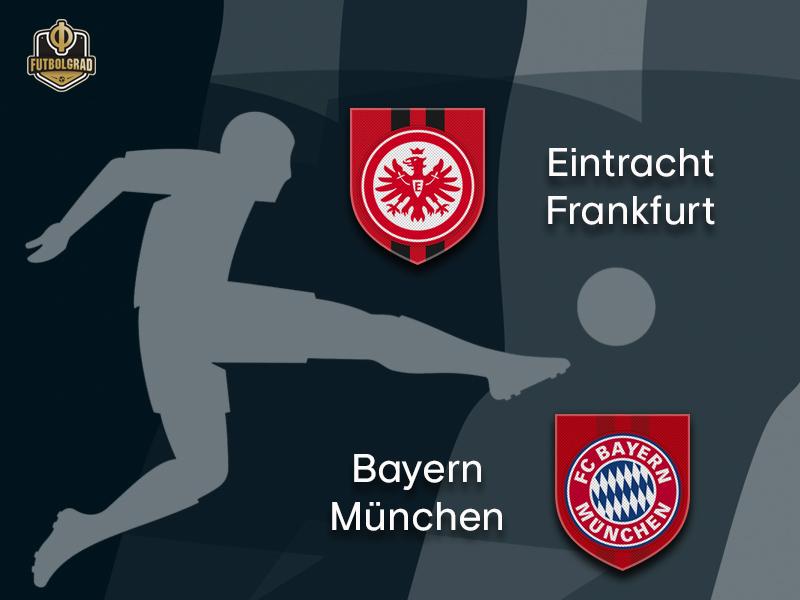 Frankfurt host Bayern for Saturday's Bundesliga Topspiel