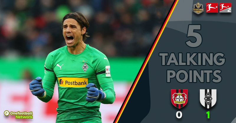 Leverkusen squander Bosz debut, Gladbach back on track – Thoughts from Leverkusen v Gladbach