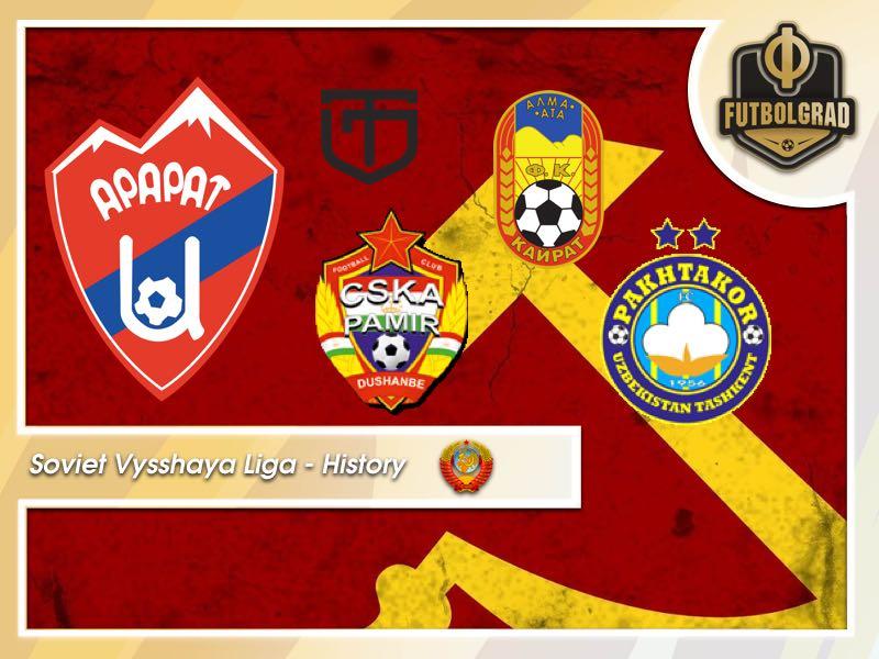 Soviet Vysshaya Liga History – The Five Most Exotic Clubs