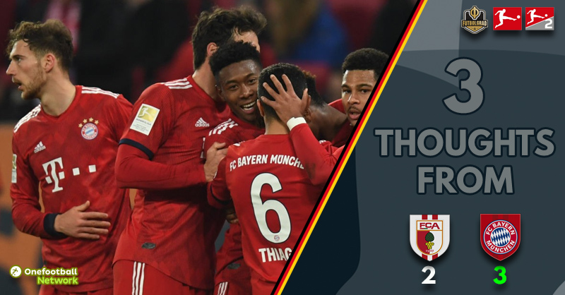 Heroic Augsburg, Bayern's defensive woes and Coman worries – Thoughts from Augsburg v Bayern
