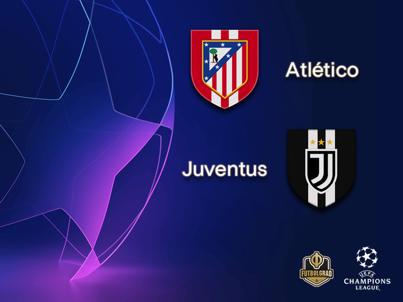 Atlético Madrid face difficult Juventus challenge
