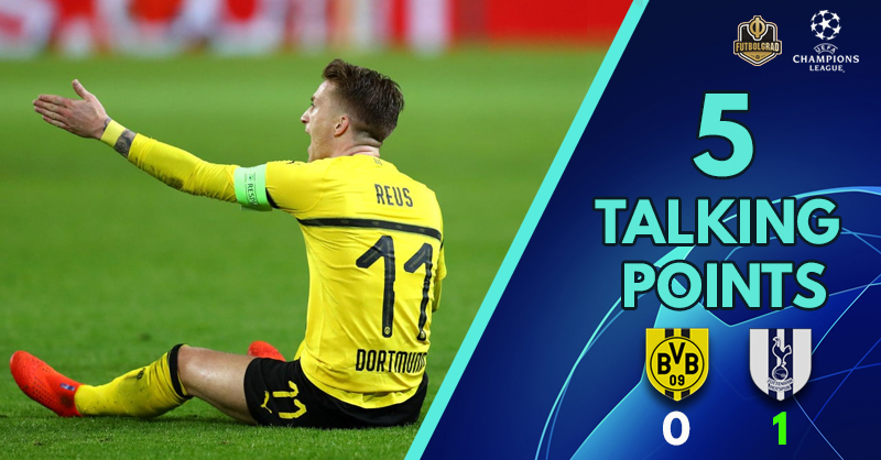 'Favre goes for broke' and 'Spurs get it done' – Five Thoughts from Dortmund v Tottenham