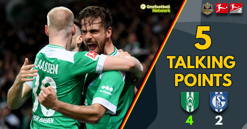 """Rashica on fire"" and ""Tedesco under pressure"" – Five Talking Points from Werder v Schalke"