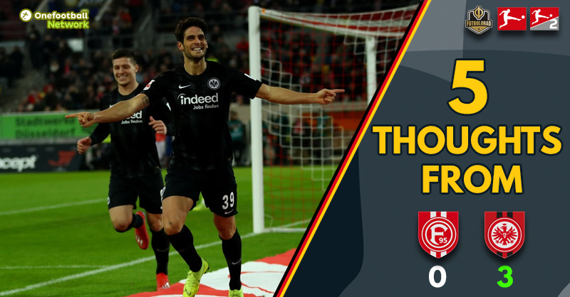 """""""Close but no cigar for Fortuna"""" and """"Paciência proves his worth – Five Thoughts from Düsseldorf v Frankfurt"""