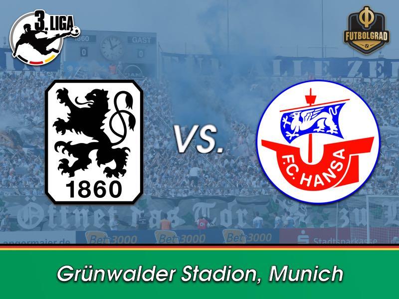 1860 Munich want to continue positive run against Hansa Rostock
