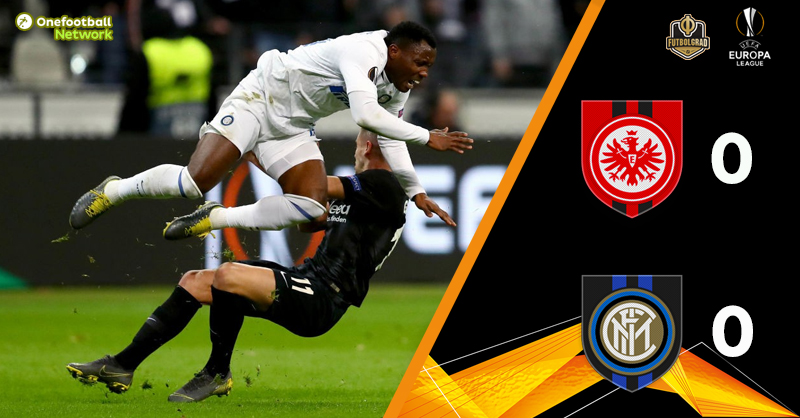 Eintracht Frankfurt held to a 0-0 draw by Inter Milan