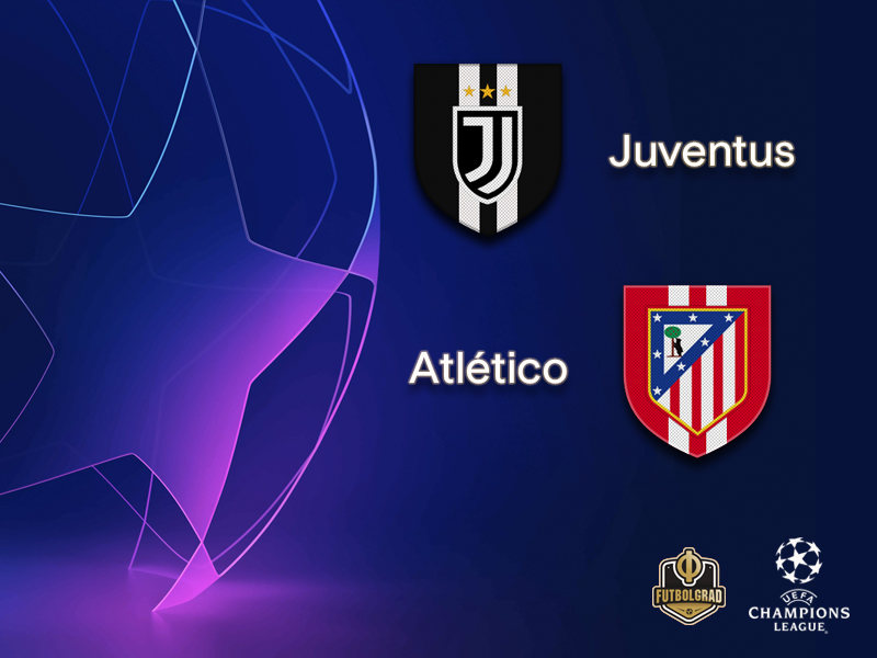 Juventus want to overcome 2-0 deficit against Atlético Madrid
