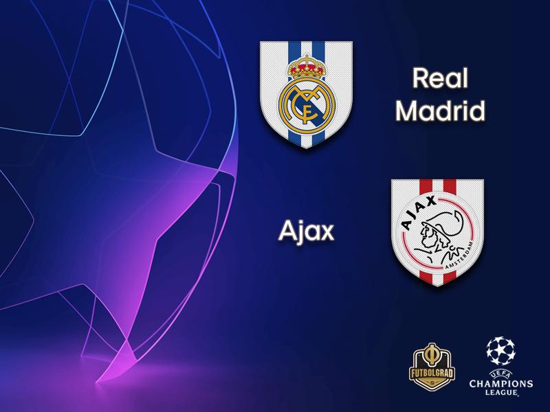Real Madrid 1-4 Ajax Match Highlight