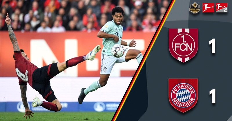 Nürnberg stop the Bayern train in its title tracks