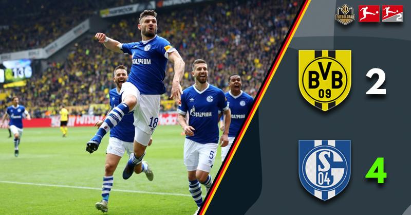 Schalke stun Dortmund as they derail their title charge
