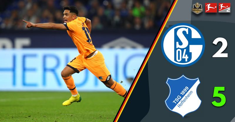 Schalke's crisis continues, Hoffenheim continues to rise