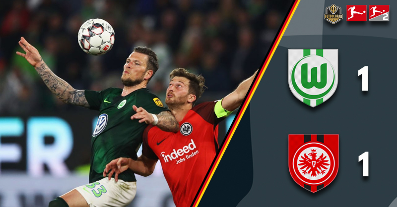 John Anthony Brooks rescues it late for Wolfsburg against Eintracht Frankfurt