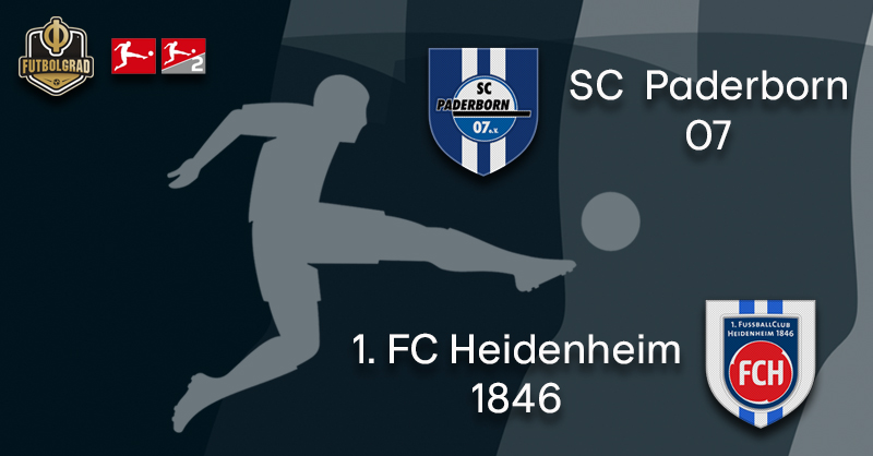 Paderborn host Heidenheim in Bundesliga 2 promotion battle