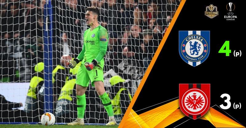 Chelsea break Eintracht Frankfurt's heart and advance to the final