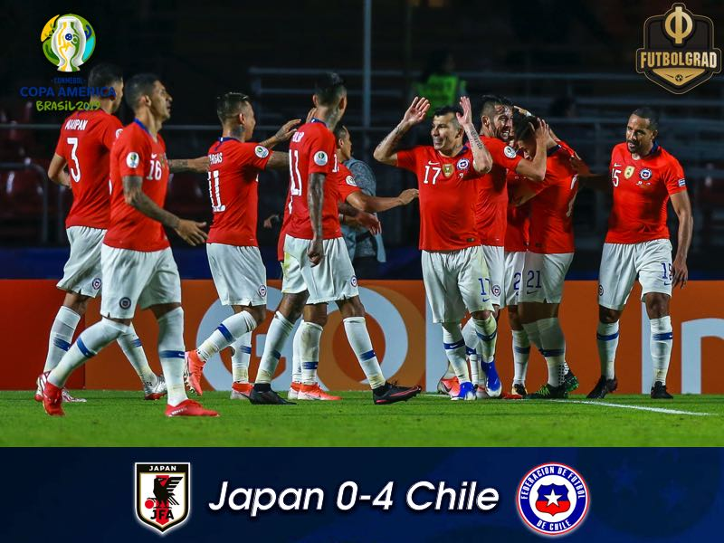 Japan v Chile – Copa América 2019 – Match Report