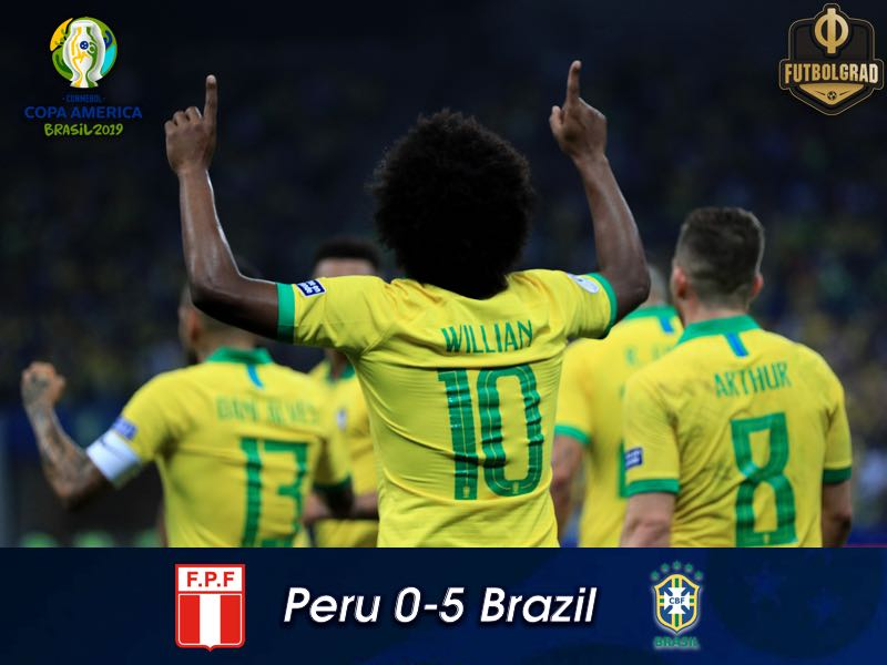 Peru vs Brazil – Copa America 2019 – Match Report