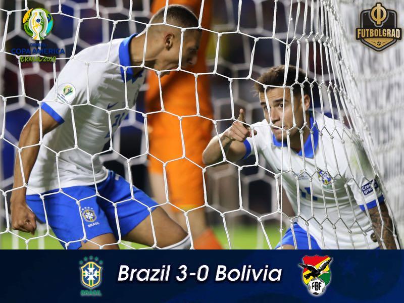 Brazil v Bolivia – Copa America 2019 – Match Report