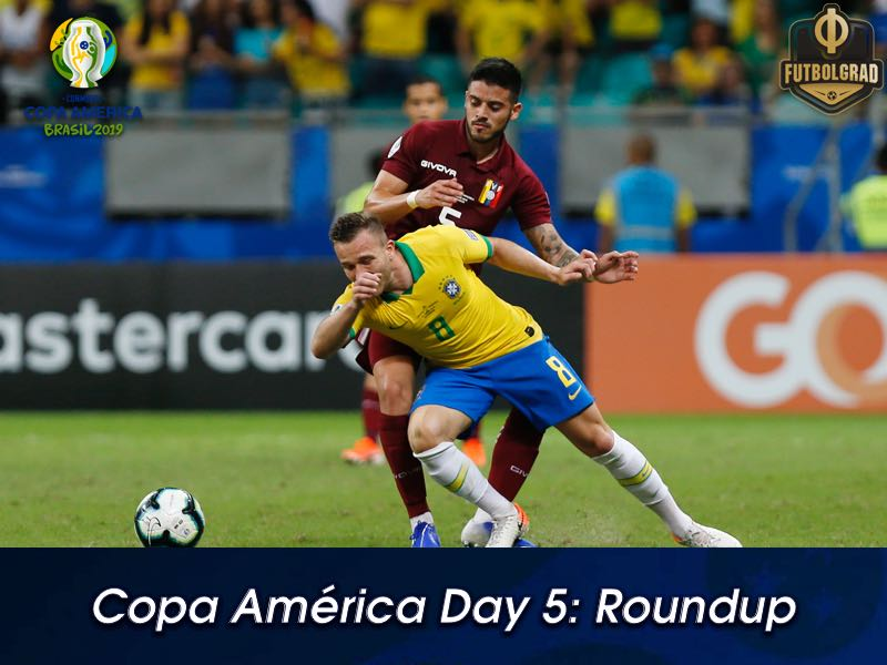 Day 5: VAR rescues Venezuela again as Brazil stumble
