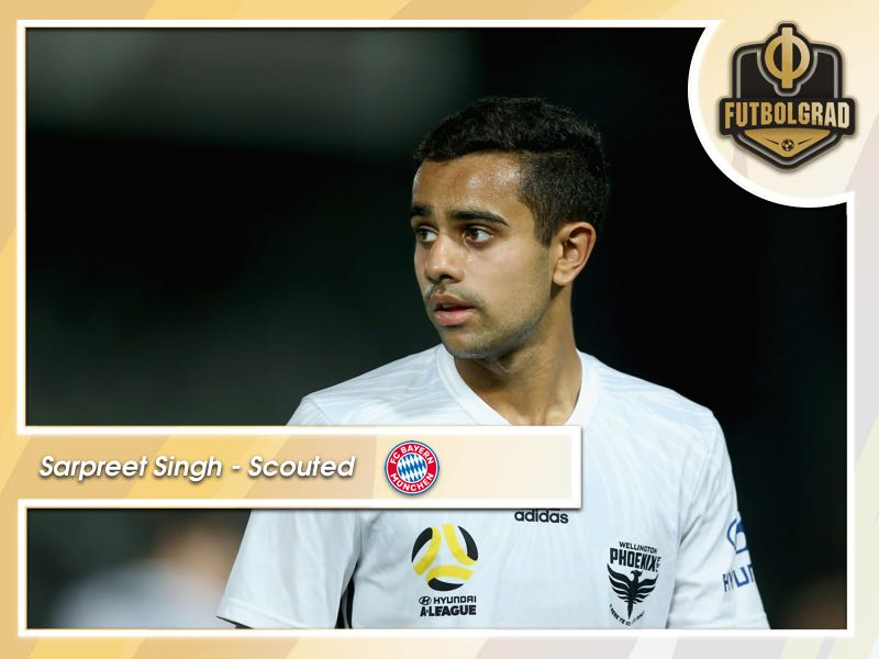 Sarpreet Singh – Bayern Target New Zealand Star