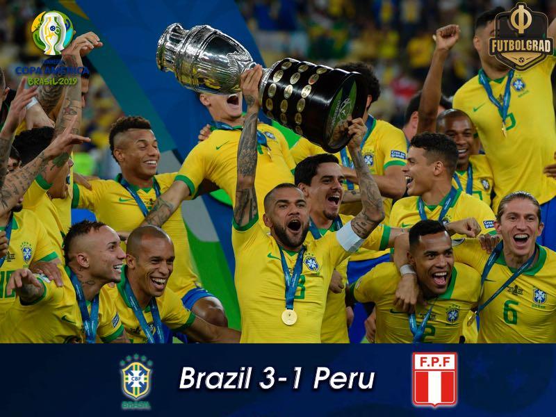 Brazil v Peru – Copa America Final – Report