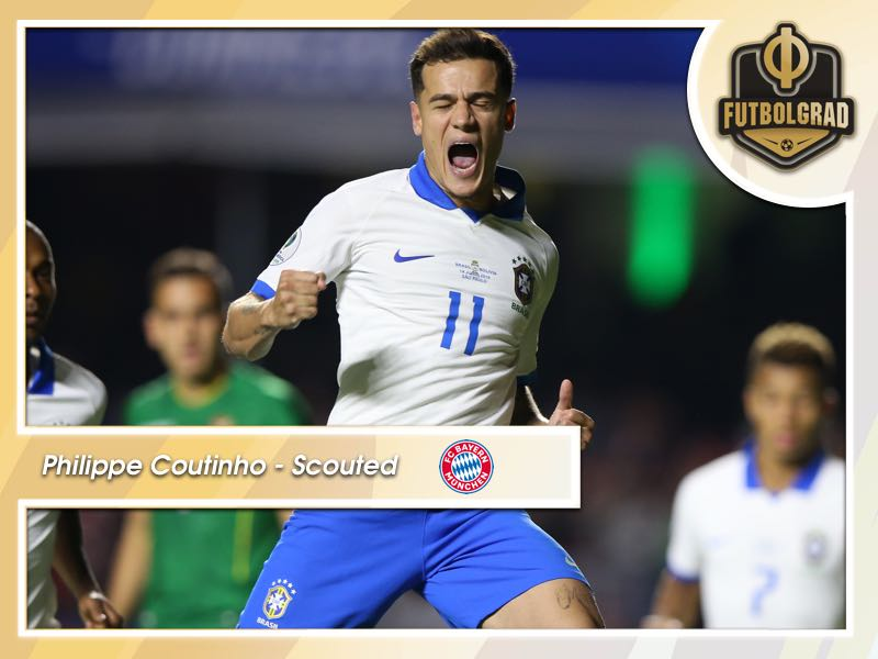 Philippe Coutinho – What can Brazil's star add to Bayern?