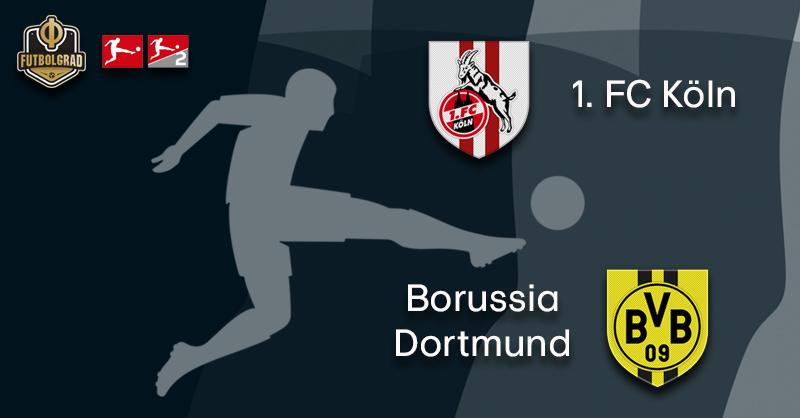 Promoted 1.FC Köln host title contender Borussia Dortmund