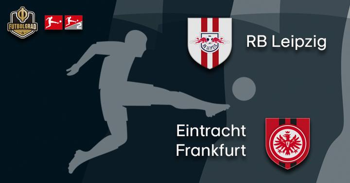 RB Leipzig host under pressure Eintracht Frankfurt